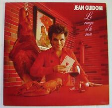 JEAN GUIDONI  (LP 33 Tours)  LE ROUGE ET LE ROSE