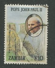 ZAMBIA #473 USED VF