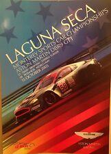 Aston Martin DBR9 GT1 Laguna Seca 2005 Event Rare Car Poster:>)