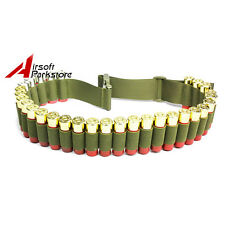 "51"" 29Round Shotgun Shell Ammo Belt Sling Bandolier for 12GA 20GA 24GA Olive D"