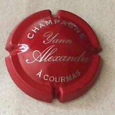Capsule de champagne ALEXANDRE (5. rouge et argent)