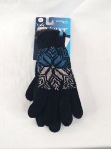 Women's NWT Isotoner Signature Smartouch Snowflake Glover One Size