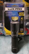 LUX-PRO 400 Lumens ULTRA-BRIGHT 4 Modes LED FLASHLIGHT - LP600V2 - NEW