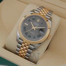 Rolex Datejust 41 Wimbledon Slate Gray Men's Watch - 126333