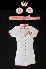 Cute Sexy Nurse Womens Halloween Costume Small Medium Doctor NEW