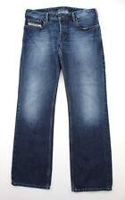 Diesel Zatiny Mens Bootcut Blue (008J4) Wash Jeans Button Fly - W33 L33