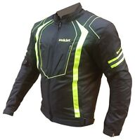 Giacca Cordura Moto Tessuto Impermeabile Sport Touring Termica Sfoderabile APW