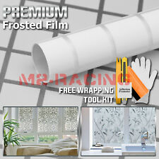 *Premium Frosted Film Glass Home Bathroom Window Security Privacy Sticker #5042