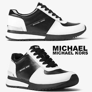 MICHAEL MICHAEL KORS Women's Allie Trainer Sneakers Sport Designer Fashion 9
