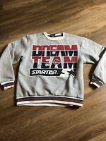 STARTER black label Sweater size Large RARE Dream Team Basketball Jordan