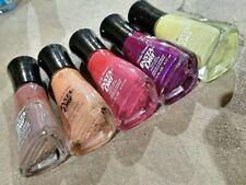 Sally Hansen INSTA-DRI nail polish LOT Rose Run Quick Sand Slick Slate Currant