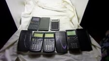 5 Calculators For Parts Or Repair Only-Ti83 Plus-Ti85-Casio-Hp
