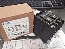 Eaton, Definite Purpose Contactor, 40 Amps., 24V Coil, 3-Pole, C25Dnf340T