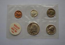 More details for 1964 us denver mint sealed coin set including silver