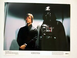 "Star Wars VI Return of the Jedi Reprinted USA Lobby Card Set of 8 11"" x 14"" Mint"