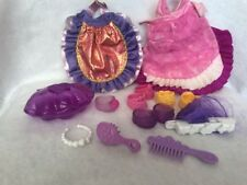 My Little Pony Lily Lightly Cape Necklace Shoes Hair Brush Lot