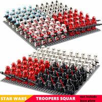 Set of 21pcs Star Wars 501st Clone Troopers Stormtrooper Mini Figure Bricks