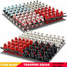 Set of 21pcs Star Wars 501st Clone Troopers Stormtrooper Mini Figure Bricks