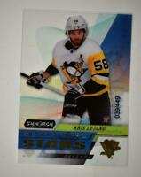 2020-21 UD Synergy Exceptional Stars Gold #ES-39 Kris Letang /449