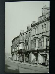 Derbyshire BUXTON High Street NEAR MARKET SQUARE c1950s Photographic Print
