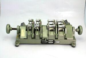Magnasync  Moviola SYB2B-A 4-Gang Motion-Picture 16-35mm Film Synchronizer