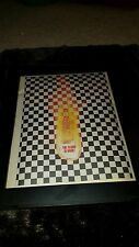 Cheap Trick The Flame Rare Original Radio Promo Poster Ad Framed!