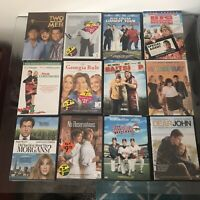 Lot of 12 DVD Movies Bundle Comedy Funny Romantic Romance