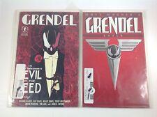 Lot 2 Grendel Comics.