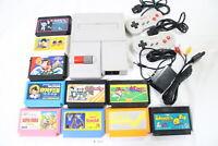 Tested! Nintendo New Famicom Console AV NES 100V-240V NTSC-J Japan Mario #3131
