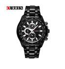 Curren 8023-3-Black/Black Stainless Steel Watch