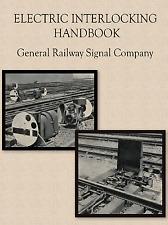 Vtg GENERAL RAILWAY SIGNAL ELECTRIC INTERLOCKING RAILROAD TRAIN Engineer Book CD