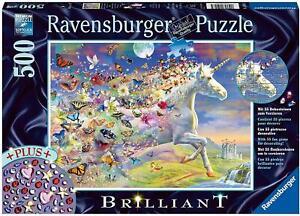 Ravensburger Unicorn and Butterflies 500pc