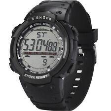Fashion Waterproof LED Date Rubber Alarm Quartz Military Digital Sport Men Watch