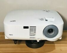 NEC VT580 PROJECTOR W/VGA,POWER CORD 64% LAMP LIFE PROJECTOR HOURS USED 1155H
