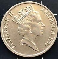 1998 AUSTRALIAN 10 CENT COIN