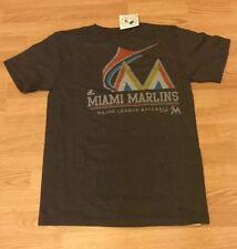 Miami Marlins MLB Majestic YOUTH XL T-Shirt NWT