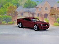 5th Gen 2010 - 2015 Chevy Camaro SS V-8 Sport Coupe Ruby 1/64 Scale Limited Ed