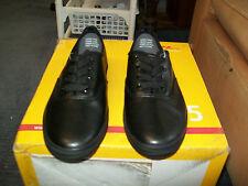 Mens Size 8 Black Lace Up Shoe