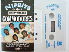 COMMODORES FLIP HITS 4 TRACK EP RARE ORIGINAL UK RELEASE CASSETTE TAPE