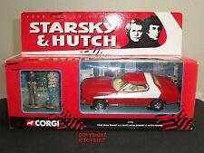 CORGI 57402 STARSKY + HUTCH FORD GRAN TORINO DIECAST MODEL CAR + METAL FIGURES
