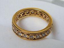 ETERNITY, ENGAGEMENT, WEDDING, ANNIVERSARY BAND- 14k GOLD & 1.00 TCW of DIAMONDS