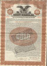 Liggett Building > Liggett-Winchester-Ley Realty $1,000 bond certificate