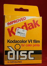 KODAK KODACOLOR VR DISC  FILM 15 EXPOSURES EXPIRED.
