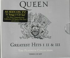 Greatest Hits: The Platinum Collection by Queen (CD, 3 Discs)  New And Sealed