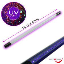 UV60-DP - UV LED Schwarzlichtröhre 60cm - 10W - T8 - für LED Fassungen