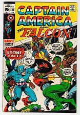 Marvel - CAPTAIN AMERICA #134 - VG Feb 1971 Vintage Comic