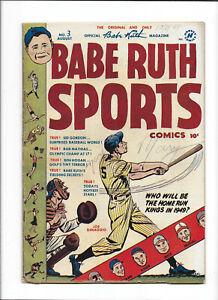BABE RUTH SPORTS #3 [1949 GD+] JOE DIMAGGIO COVER!