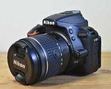 NIKON D5600 DSLR CAMERA KIT WITH NIKKOR LENS CHARGER BATTERIES 16GB SD & BAG