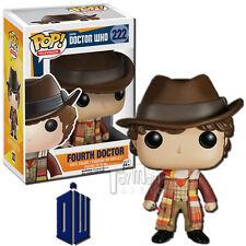 Funko POP! TV Doctor Who Tom Baker as Fourth Doctor Vinyl Figure #222
