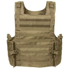 VOODOO TACTICAL ARMOR CARRIER VEST MAX PROTECTION 20-8399 / COYOTE - NEW